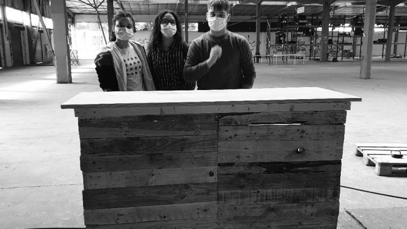 Le chantier participatif Rock School avec les Compagnons Bâtisseurs